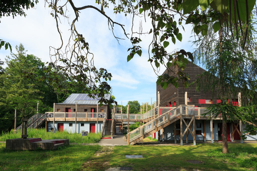 Visite de la station d'écologie forestière de Fontainebleau (77)