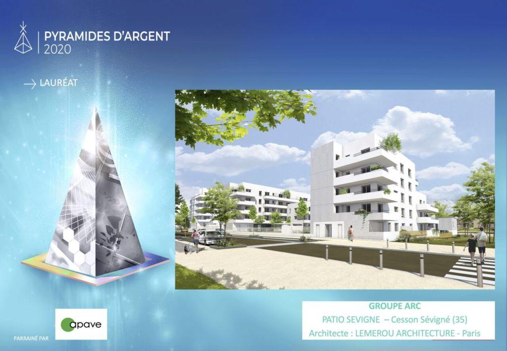 Prix Pyramides d'Argent Bretagne 2020