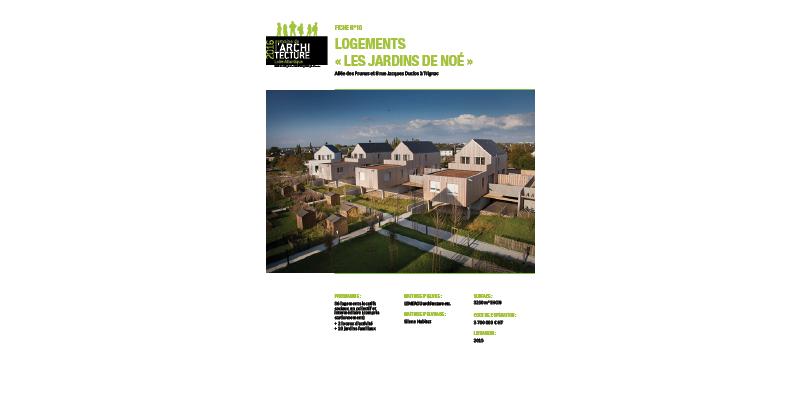 CAUE44 - Semaine de l'Architecture Loire Atlantique - 2016 - Trignac