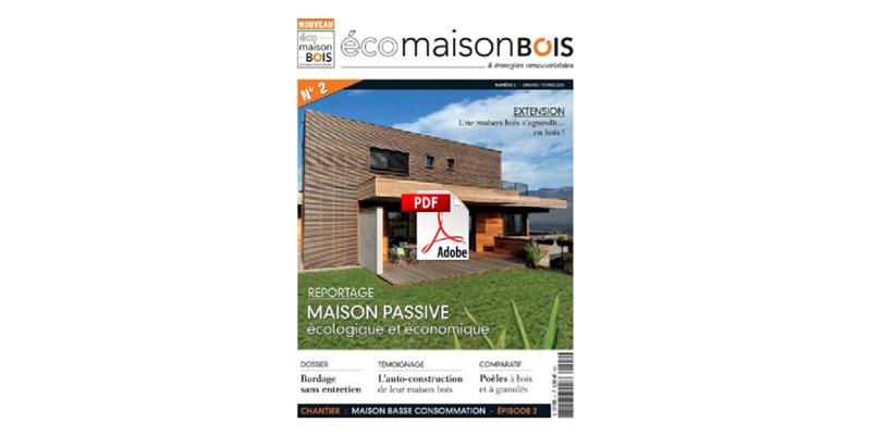 Éco Maison Bois n°2 - Janvier-Février 2010 - Coudeville