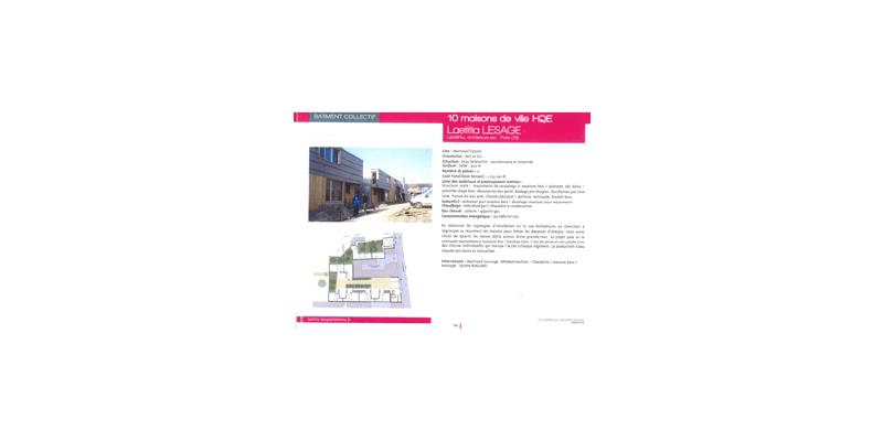 Les Lauriers de la Construction Bois - 2018 - Montreuil Rochebrune